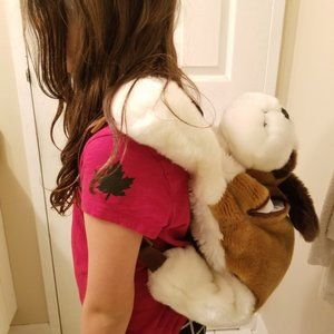 Other - Big doggy backpack with large pouch- Like new